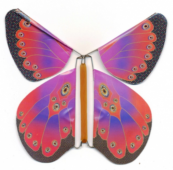 Как из открытки сделать бабочку 12