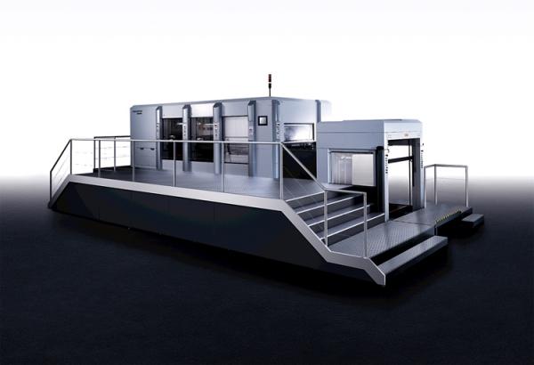 Новая машина для тиснения и вырубки Heidelberg Dymatrix XL 145 CSB для крупных производителей упаковки